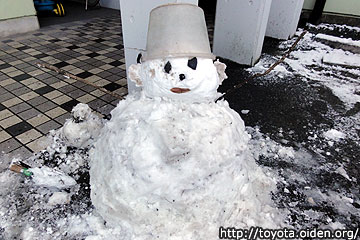 豊田市雪だるま